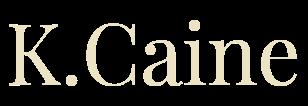 K. Caine, author